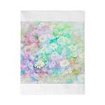 Watercolor daisies Twin Duvet