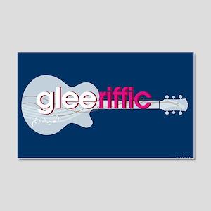Glee Guitar 20x12 Wall Decal