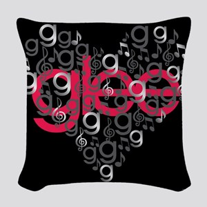 Glee Heart Woven Throw Pillow