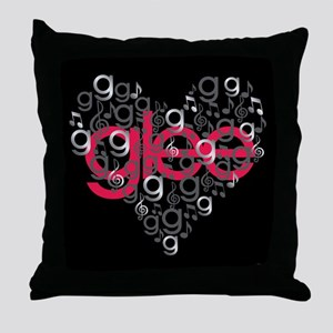 Glee Heart Throw Pillow