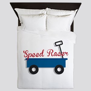 Speed Racer Queen Duvet