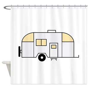 Travel Trailer Shower Curtains