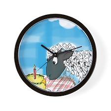 happy b-day 2 ewe Wall Clock