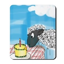 happy b-day 2 ewe Mousepad