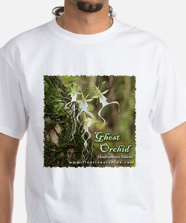 Ghost Orchid White T-Shirt
