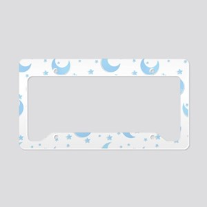 Moon Time License Plate Holder
