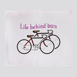 LIFE BEHIND BARS Throw Blanket