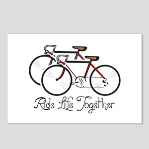 RIDE LIFE TOGETHER Postcards (Package of 8)