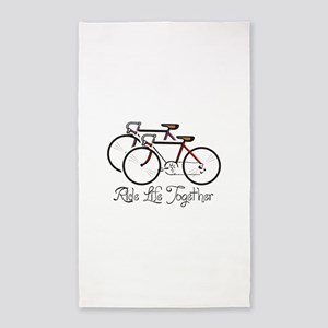 RIDE LIFE TOGETHER Area Rug