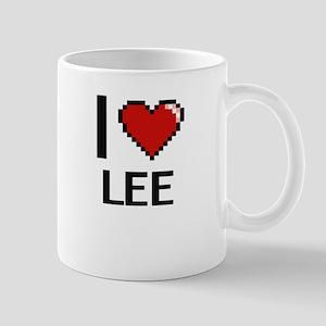 I Love Lee Mugs