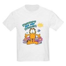 Flowers Are Our Friends! Kids Light T-Shirt