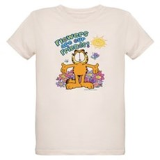 Flowers Are Our Friends! Organic Kids T-Shirt