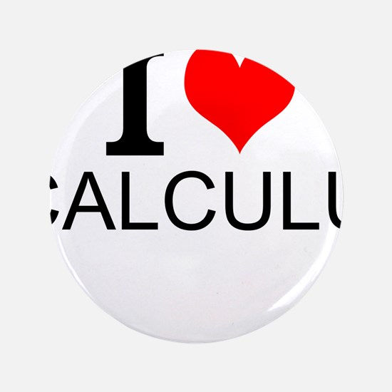 "I Love Calculus 3.5"" Button (100 pack)"