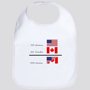 Half Canadian Half American completely awesome Bib