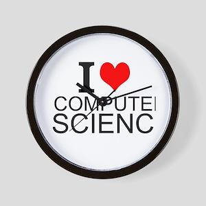 I Love Computer Science Wall Clock