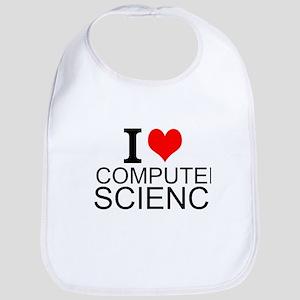 I Love Computer Science Bib