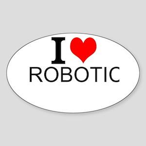 I Love Robotics Sticker