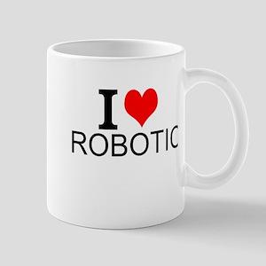 I Love Robotics Mugs