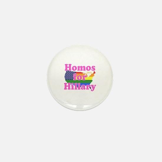 Funny Gay Mini Button