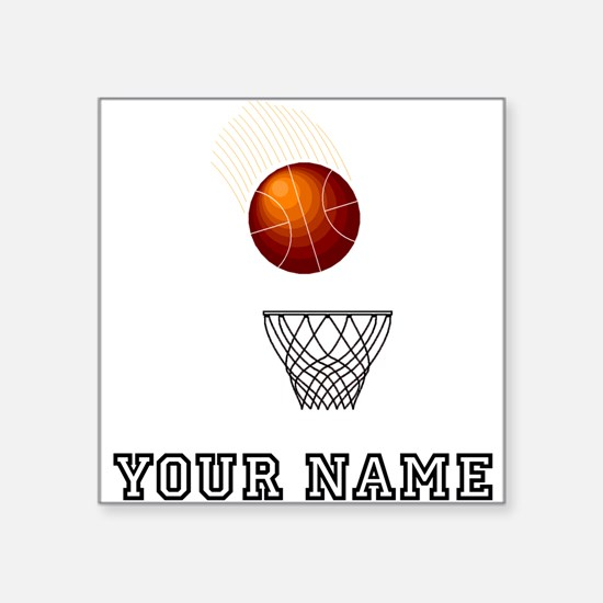 Basketball Net Sticker