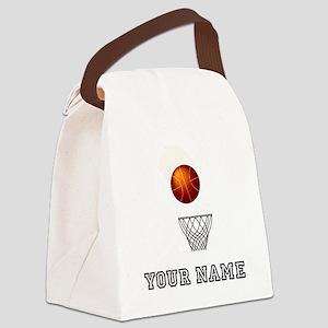 Basketball Net Canvas Lunch Bag