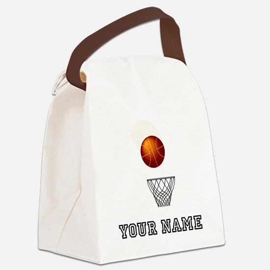 Basketball Net Canvas Lunch Bag