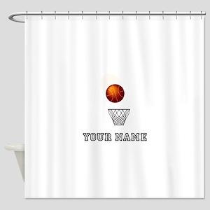 Basketball Net Shower Curtain