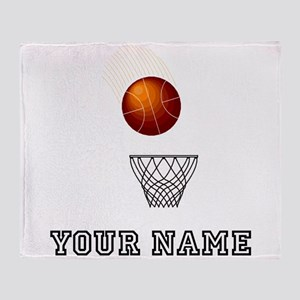 Basketball Net Throw Blanket