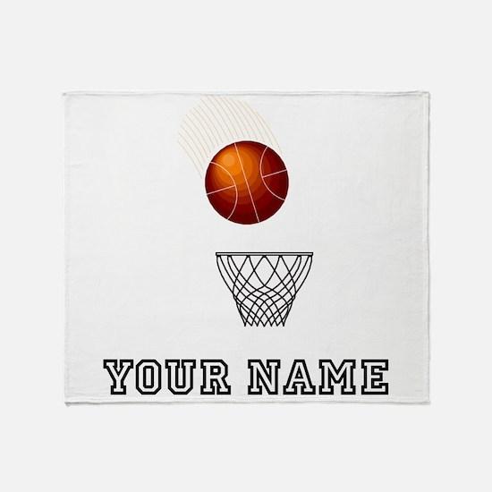 Basketball Net Throw Blanket