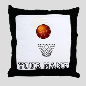 Basketball Net Throw Pillow