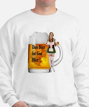 German Beer Girl Sweatshirt
