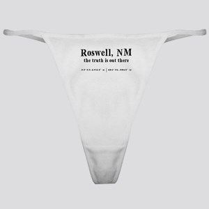 Roswell, NM Classic Thong