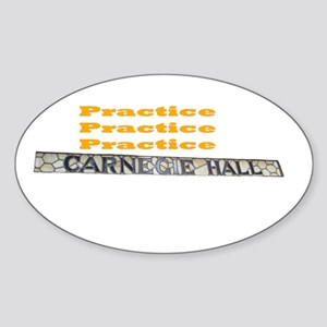 How Do You Get To Carnegie Hall? Sticker