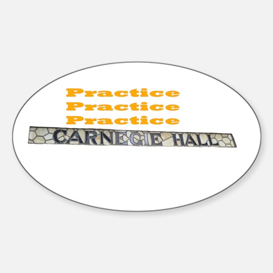 How Do You Get To Carnegie Hall? Decal