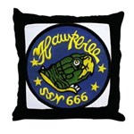 USS HAWKBILL Throw Pillow
