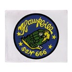 USS HAWKBILL Throw Blanket