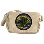 USS HAWKBILL Messenger Bag