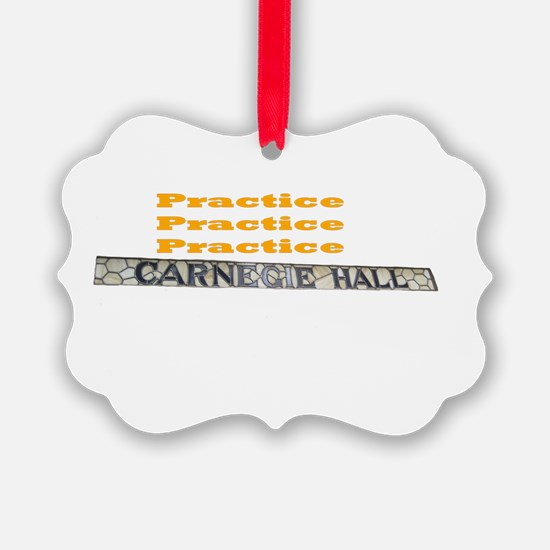 How Do You Get To Carnegie Hall? Ornament