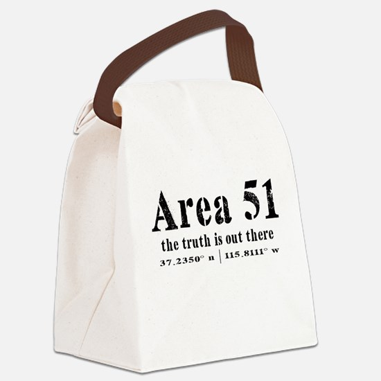 Area 51 Canvas Lunch Bag