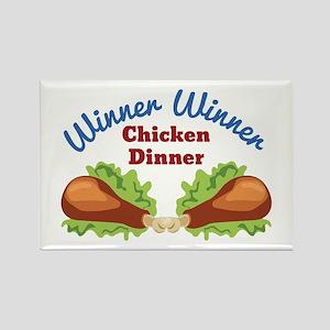 Chicken Dinner Magnets