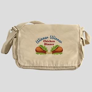 Chicken Dinner Messenger Bag