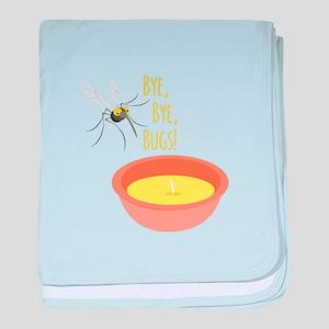 Bye Bugs baby blanket
