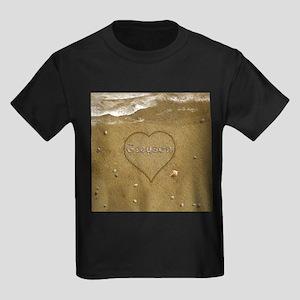 Greyson Beach Love Kids Dark T-Shirt