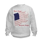 USA Never Forget Kids Sweatshirt