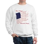 USA Never Forget Sweatshirt