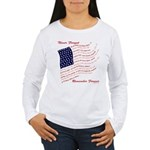 USA Never Forget Women's Long Sleeve T-Shirt