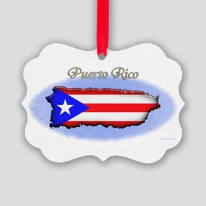 Puerto Rico Ornament