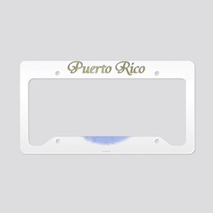 Puerto Rico License Plate Holder