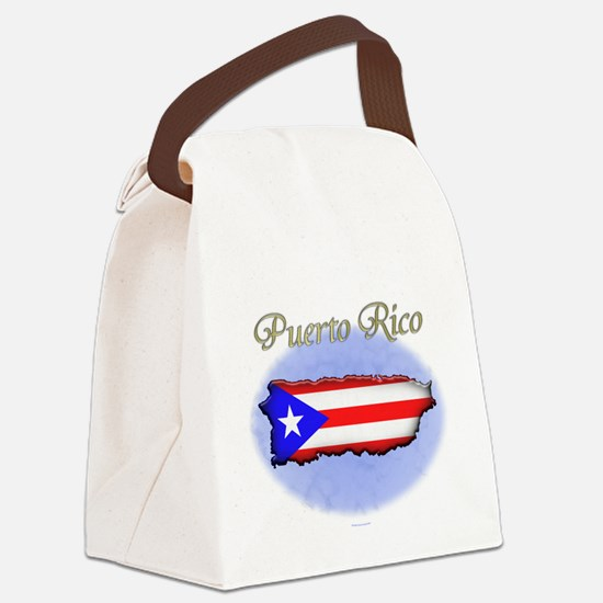 Puerto Rico Canvas Lunch Bag