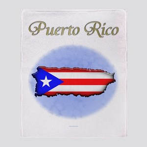 Puerto Rico Throw Blanket